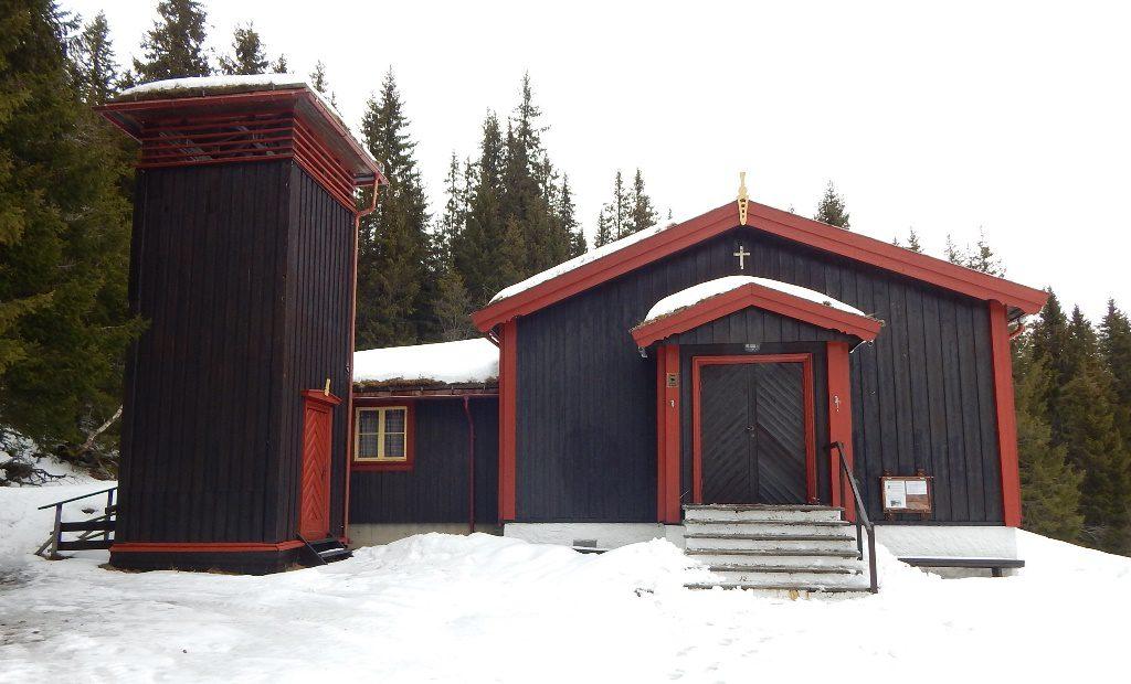 Vintervandring fra Fjellseter kapell 04.03.18