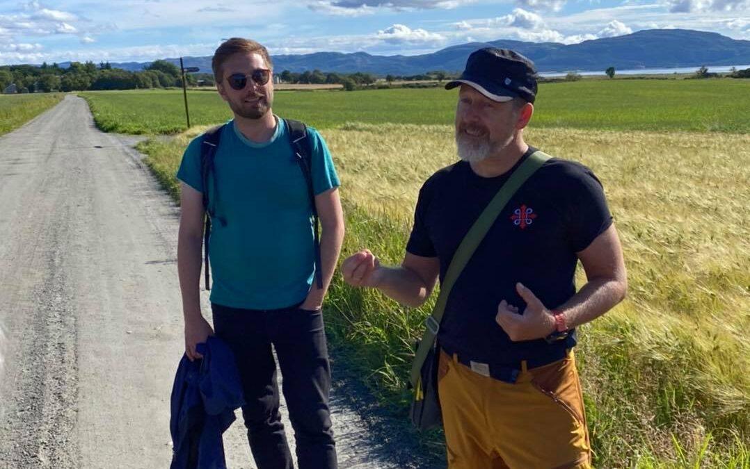 Daniel Johansen og Einar Vegge